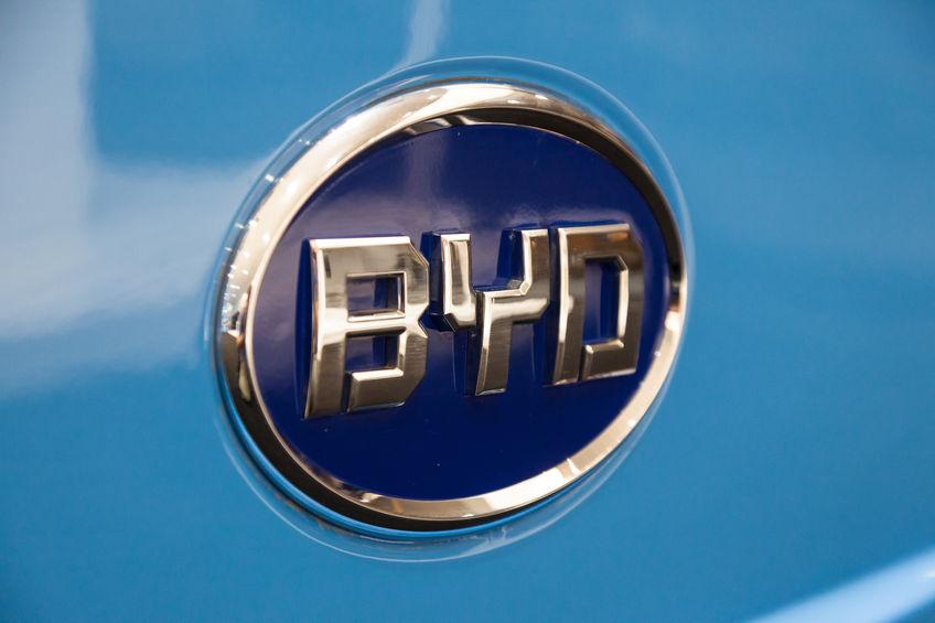 比亚迪汽车向腾势新能源增资8亿元