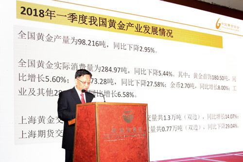 一季度我国黄金产量98.216吨 黄金消费量284.97吨