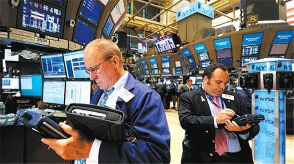 纽约股市三大股指18日涨跌不一