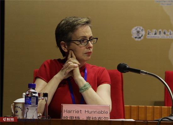 美国纽约商业交易所金属产品执行理事Harriet Hunnable女士