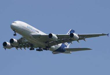 客机需求旺盛 范堡罗航展已签订数百亿美元订单