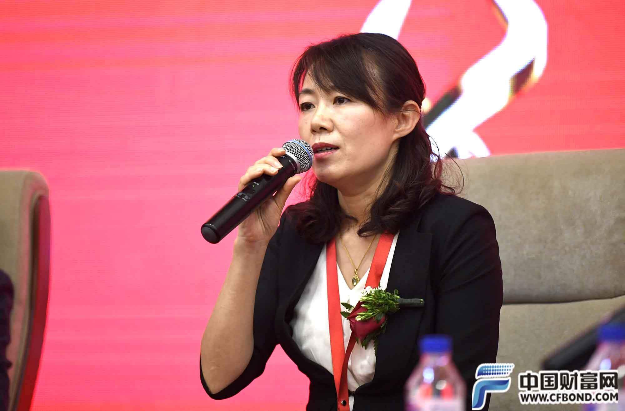 中国邮储银行资产管理部总经理 步艳红