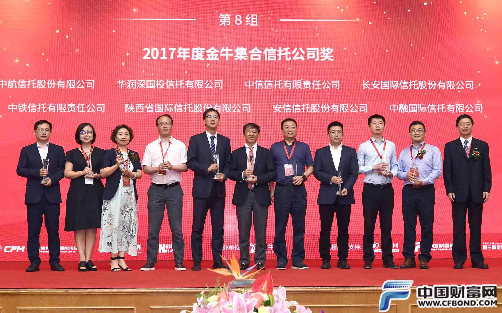 2017年度金牛集合信托公司奖