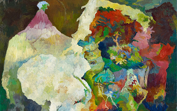 抽象,一种绘画修辞 中德艺术比较研究