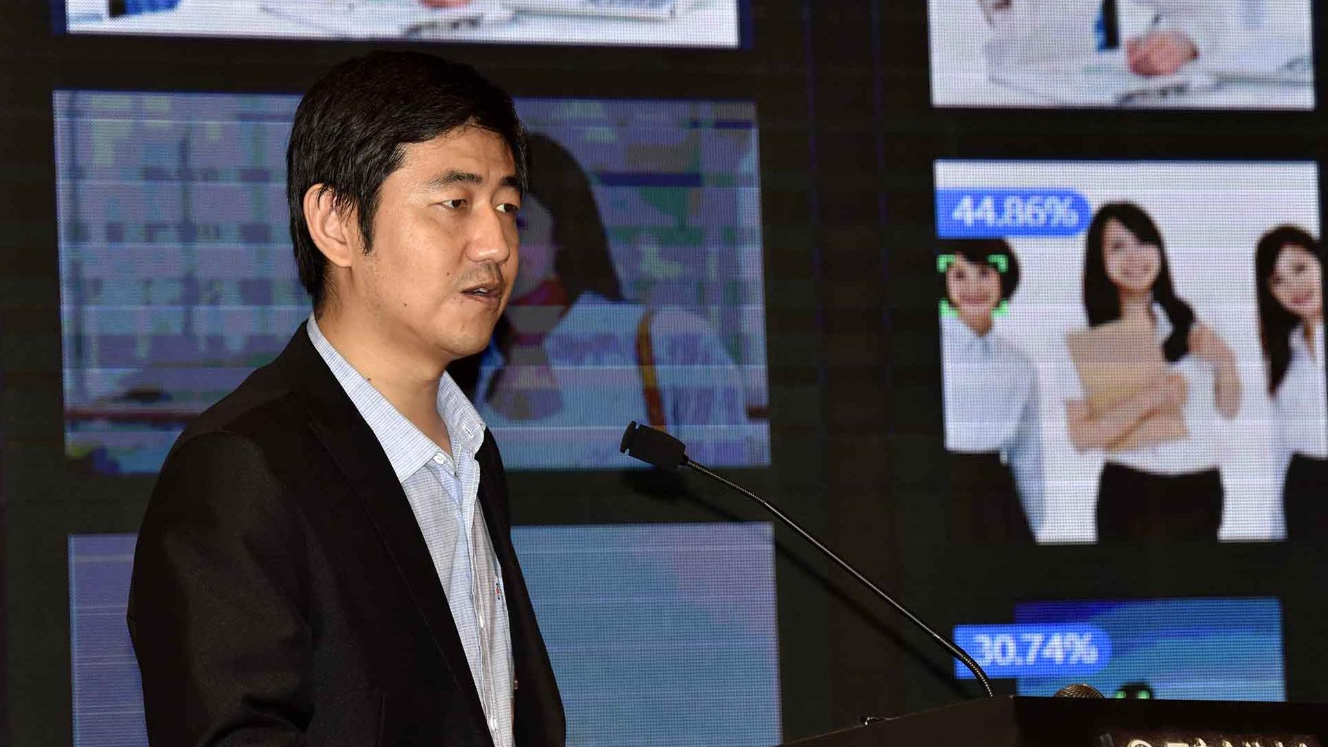 华为技术有限公司王权发表演讲