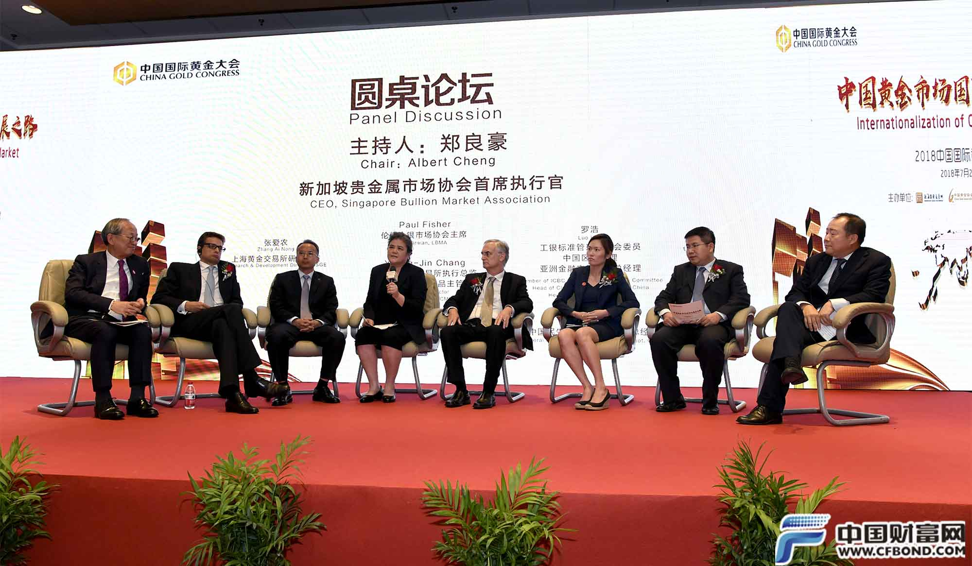 圆桌论坛:中国黄金市场国际化发展之路