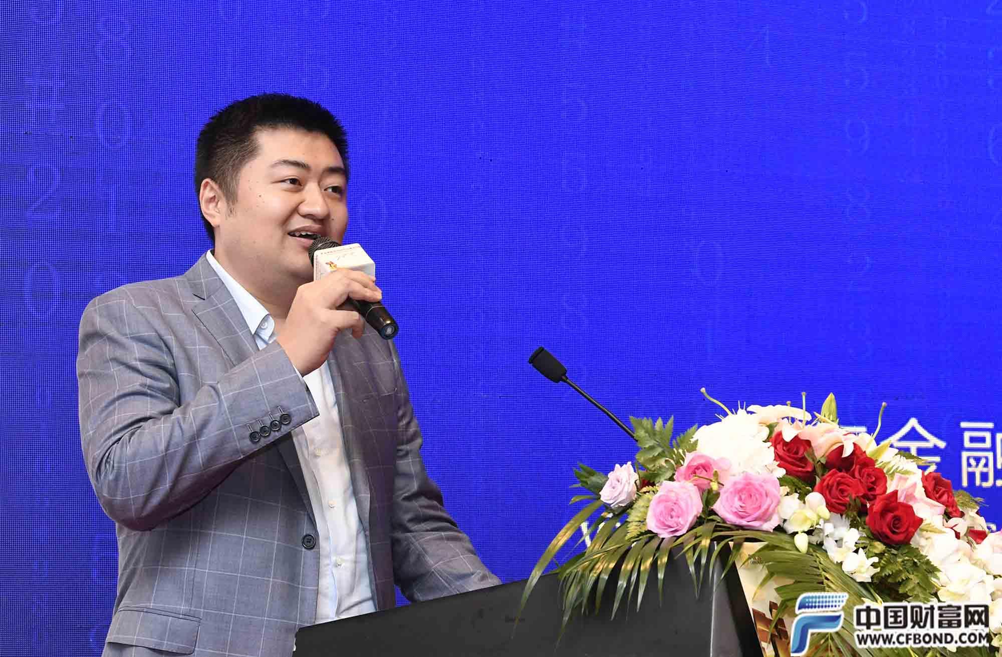 京东金融副总裁周宇航致辞