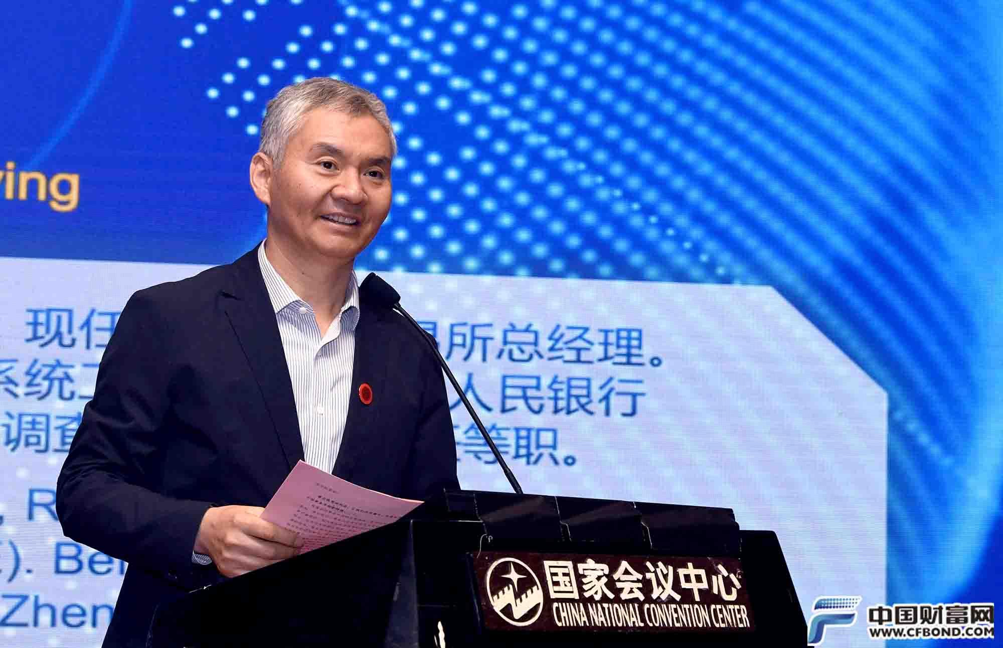 上海黄金交易所总经理王振营发表演讲