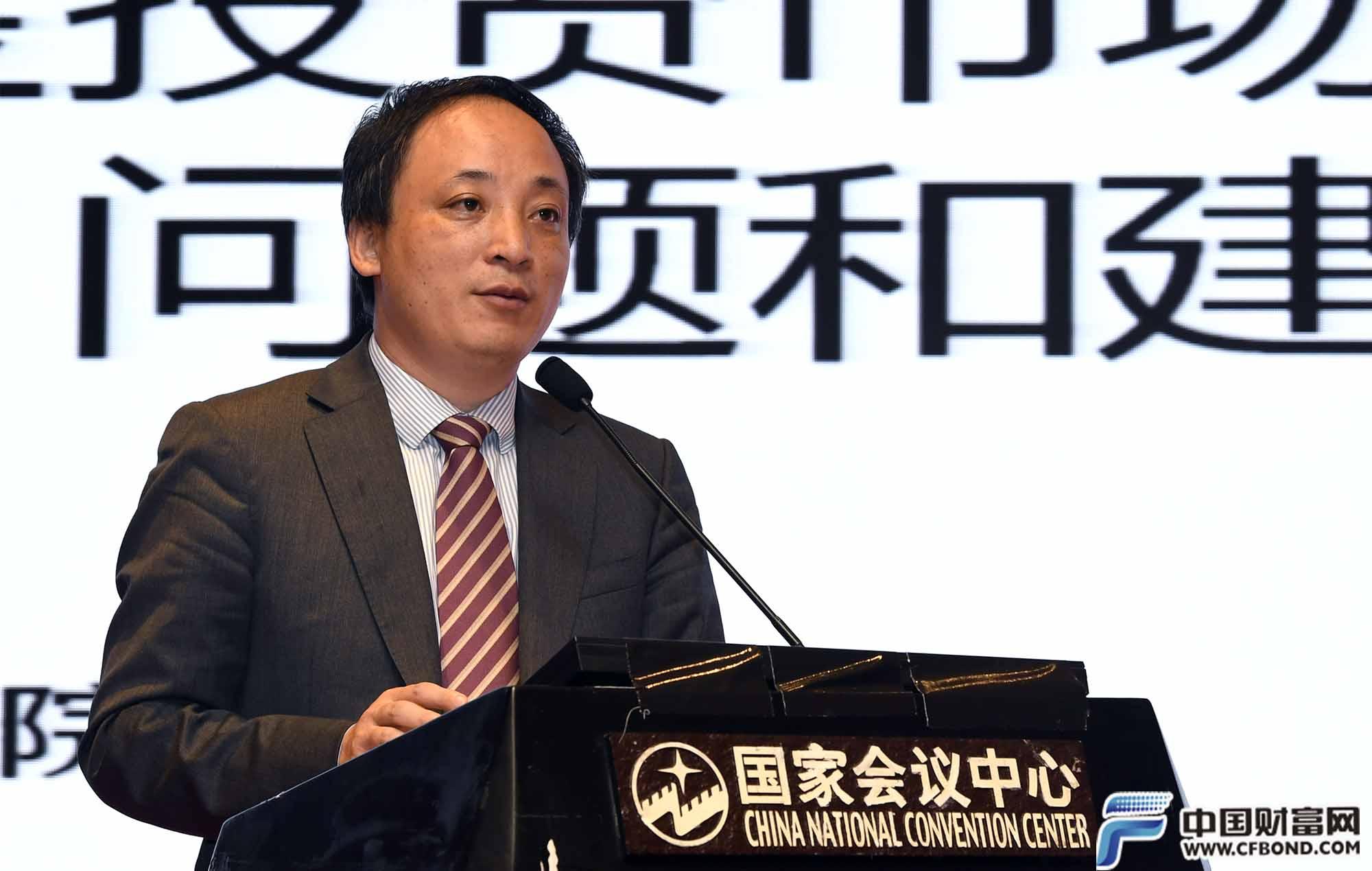 国务院发展研究中心陈道富发表演讲