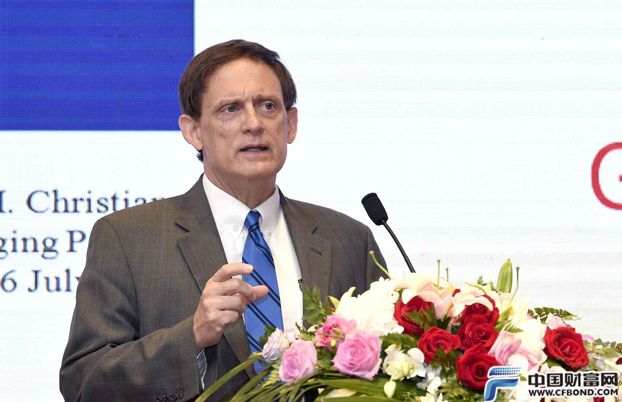 CPM集团总裁杰弗瑞发言