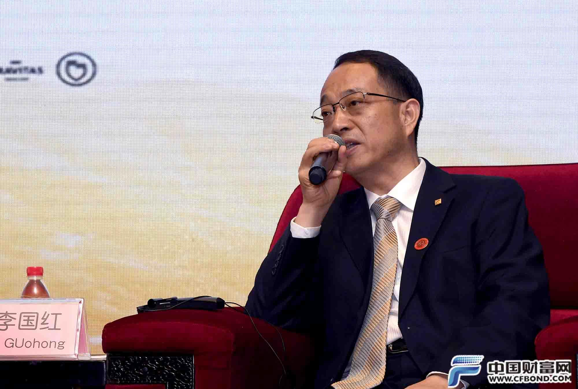 山东黄金集团总经理李国红发言