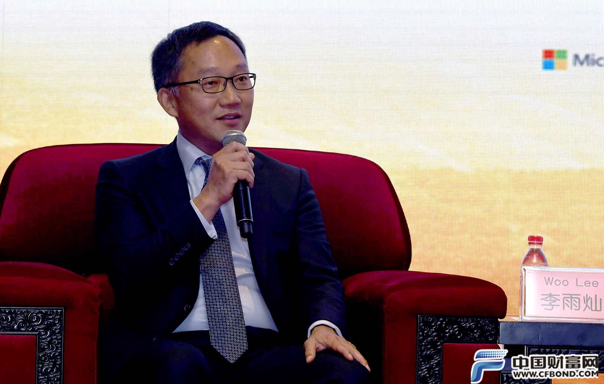 巴里克黄金大中华区总裁李雨灿发言