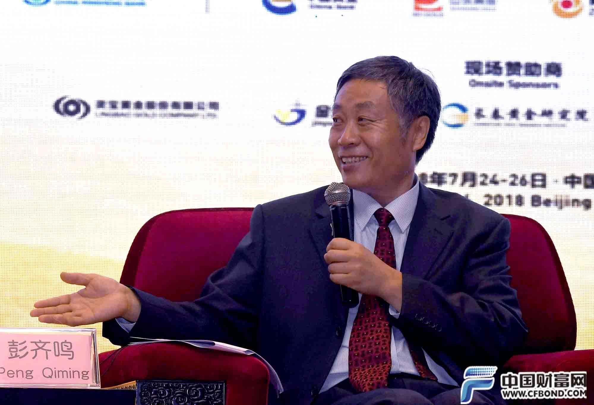 中国矿业联合会会长彭齐鸣主持圆桌对话