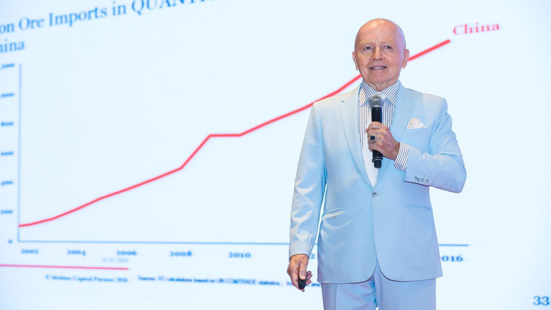 """""""新兴市场投资之父""""马克·墨比尔斯:黄金投资市场未来可期"""
