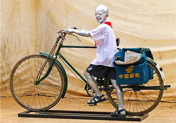 """湖北省美术院雕塑艺术家作品集体亮相""""一带一路""""展"""