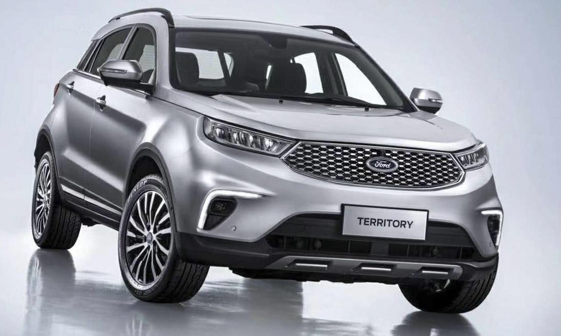 福特发布全新SUV车型Territory官图 2019年上市