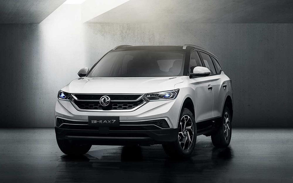 东风风神AX7全国首秀 定位AI生态SUV