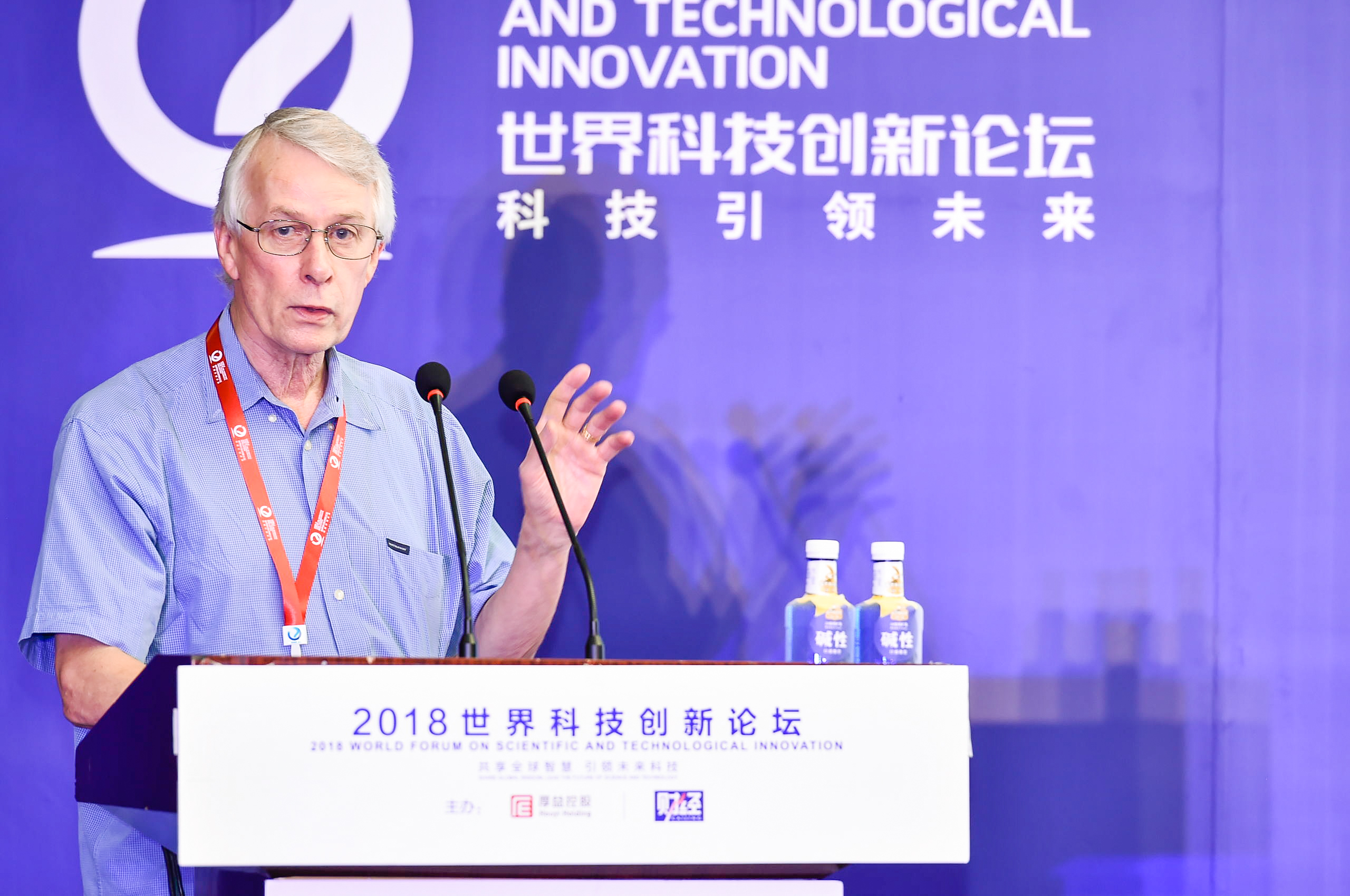 Richard J.Roberts,1993年诺贝尔生理学或医学奖获得者
