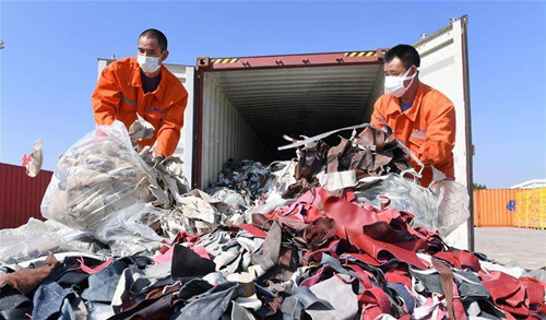 China's solid waste imports continue to slump on tightened ban