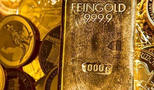 纽约商品交易所黄金期货市场12月黄金期价20日上涨