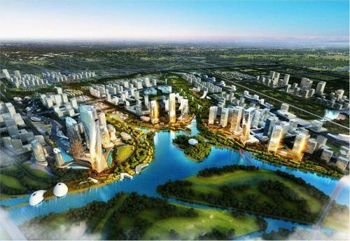 以人为本绿色发展 产城一体勾勒未来——陕西西咸新区创新城市发展方式调查