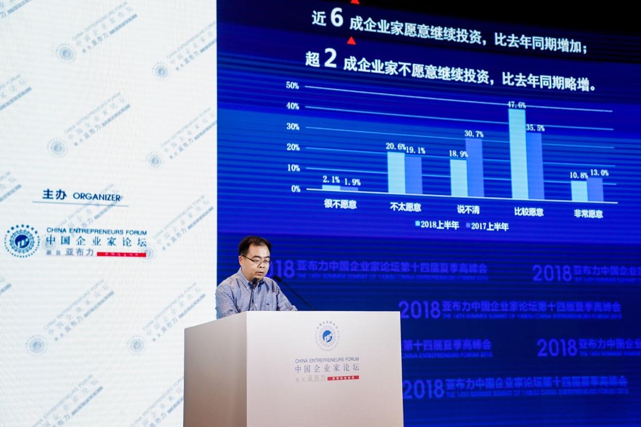 """""""亚布力指数"""":中国企业家对未来发展仍较乐观"""