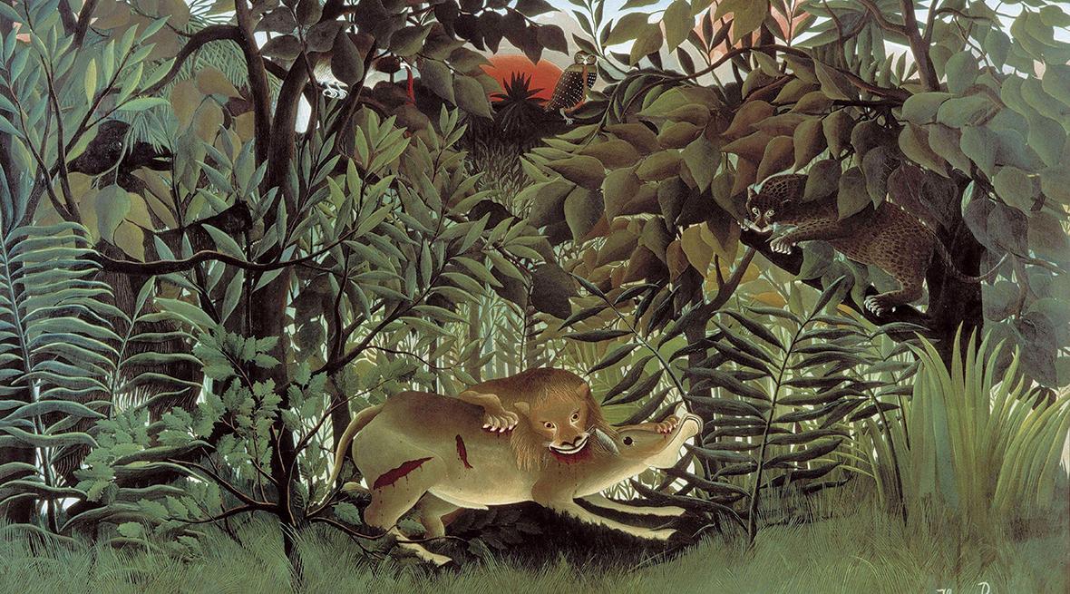 童心艺术家亨利•卢梭的艺术创作