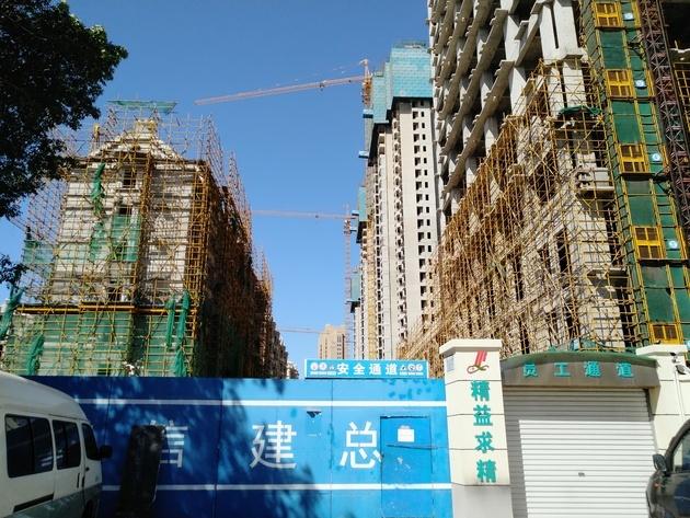 18栋住宅主体完成 却因混凝土问题将全部拆除重建
