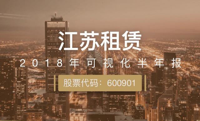 一图读财报:江苏租赁上半年净利润同比增长10.03%