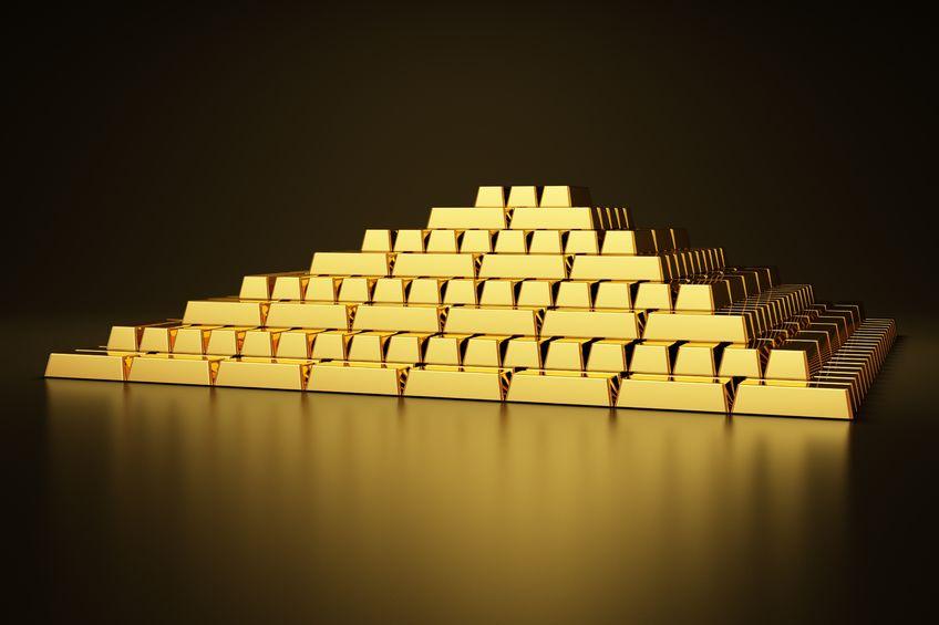 中国8月末黄金储备5924万盎司