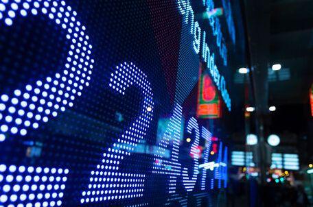 纽约股市三大股指10日涨跌互现