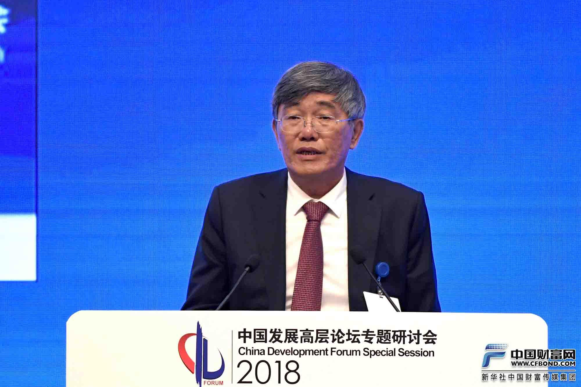 全国政协经济委员会副主任杨伟民发言