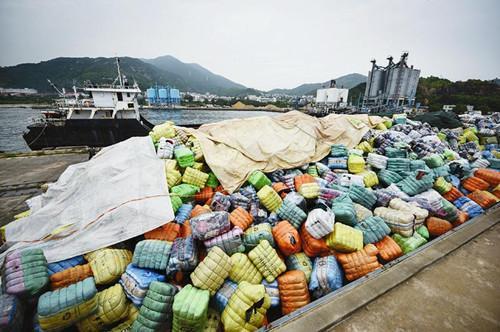 海关开展打击洋垃圾走私集中行动