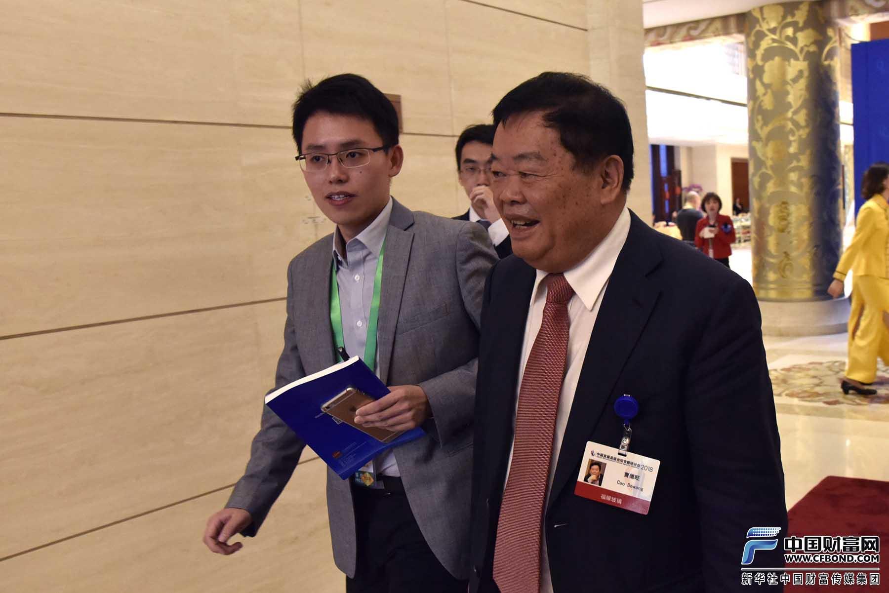 中国财富网记者采访福耀玻璃集团创始人、董事长曹德旺