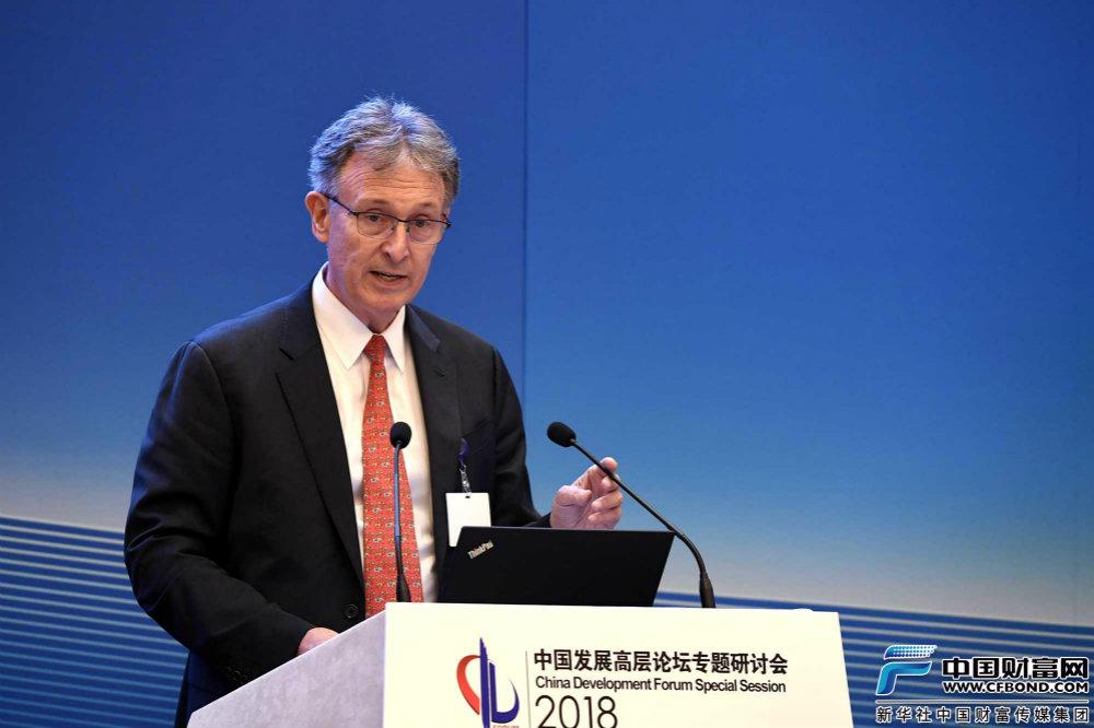 瀚亚投资公司主席、保诚亚洲公益基金主席康德纳发言