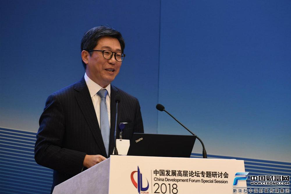 埃森哲全球高级副总裁、大中华区主席朱伟发言