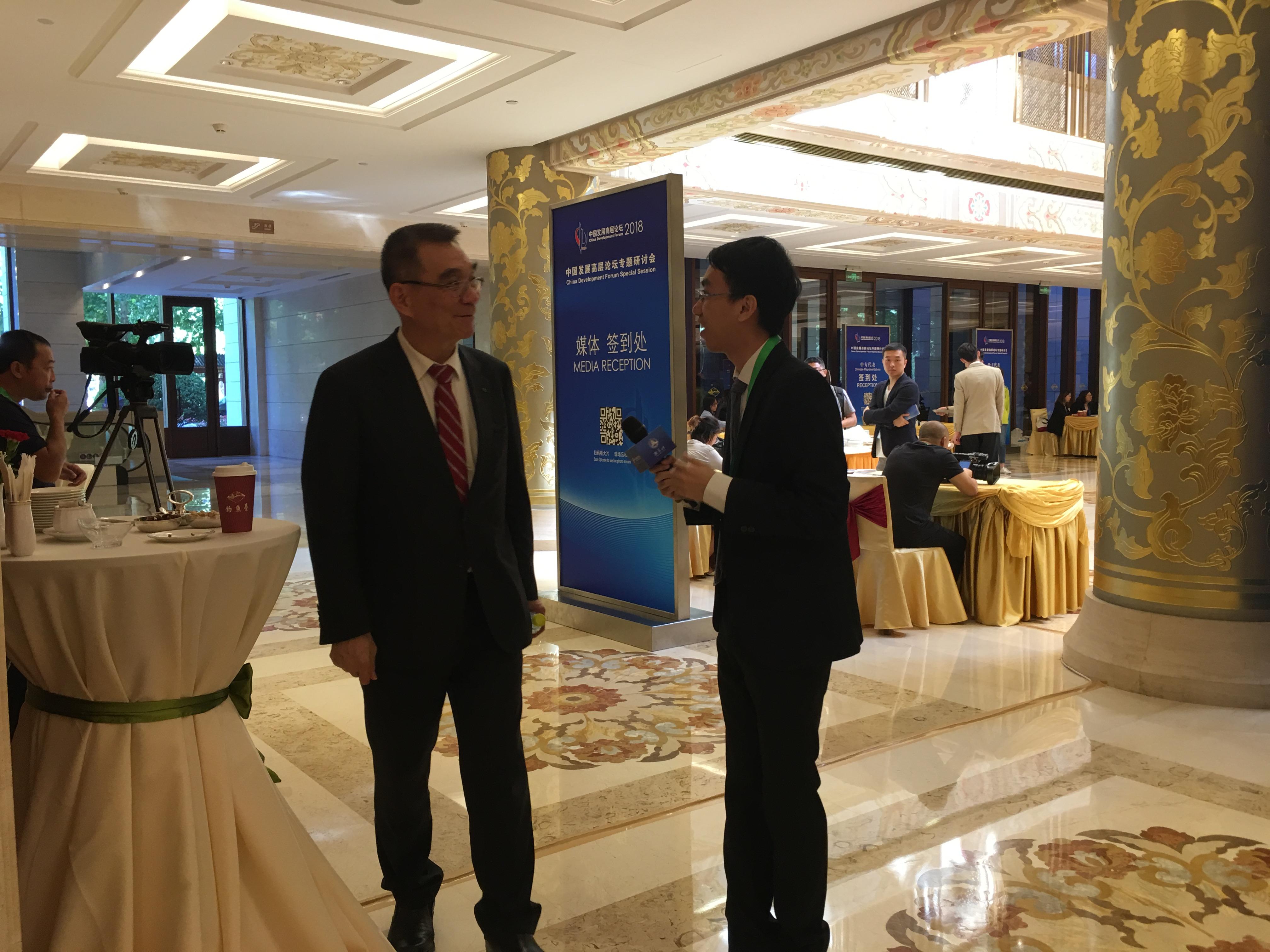 中国财富网记者专访与会嘉宾