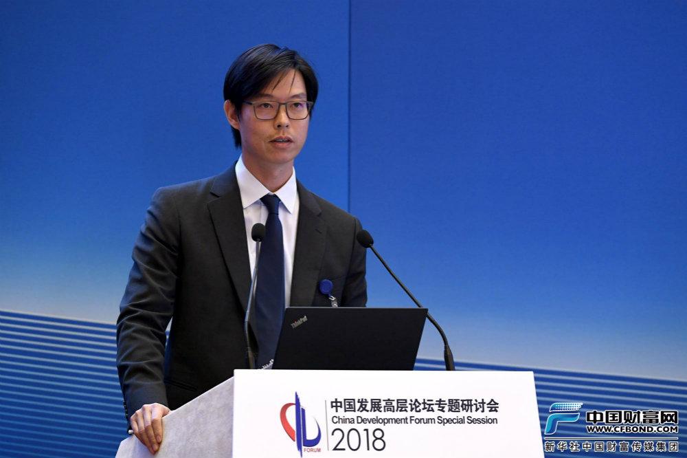 汇丰银行(中国)有限公司行长兼行政总裁廖宜建发言