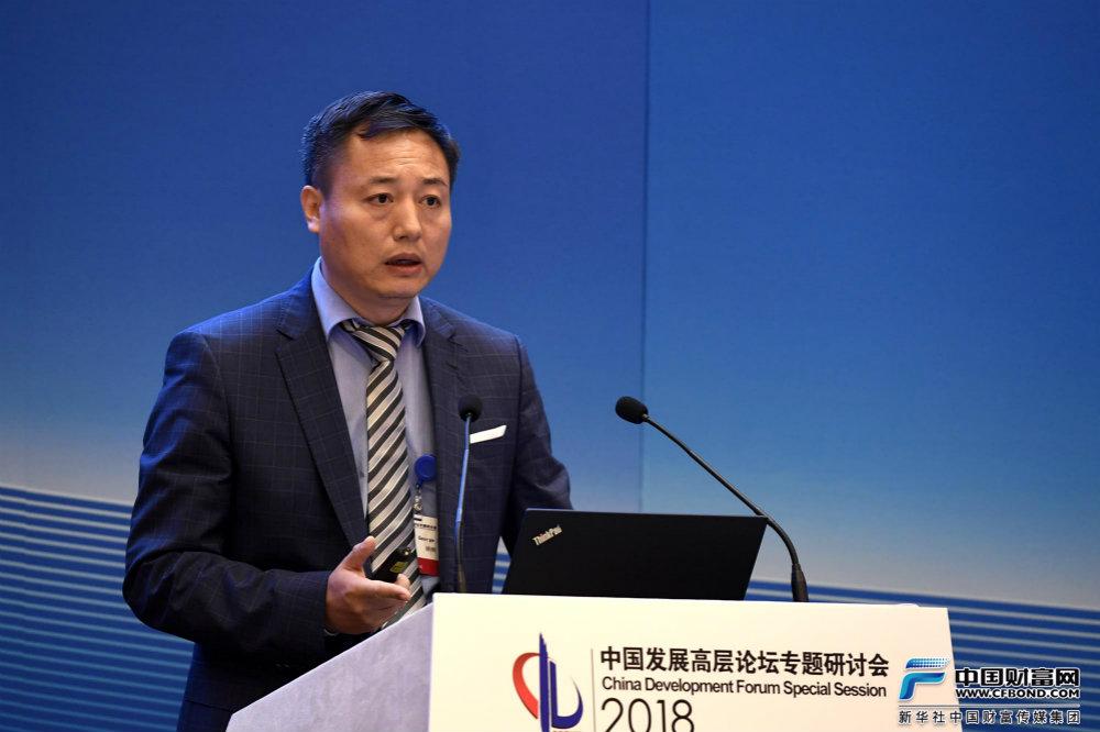 空中客车全球执委会委员、中国公司首席执行官徐岗发言