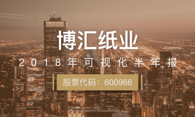 一图读财报:博汇纸业上半年净利润同比增长1.50%