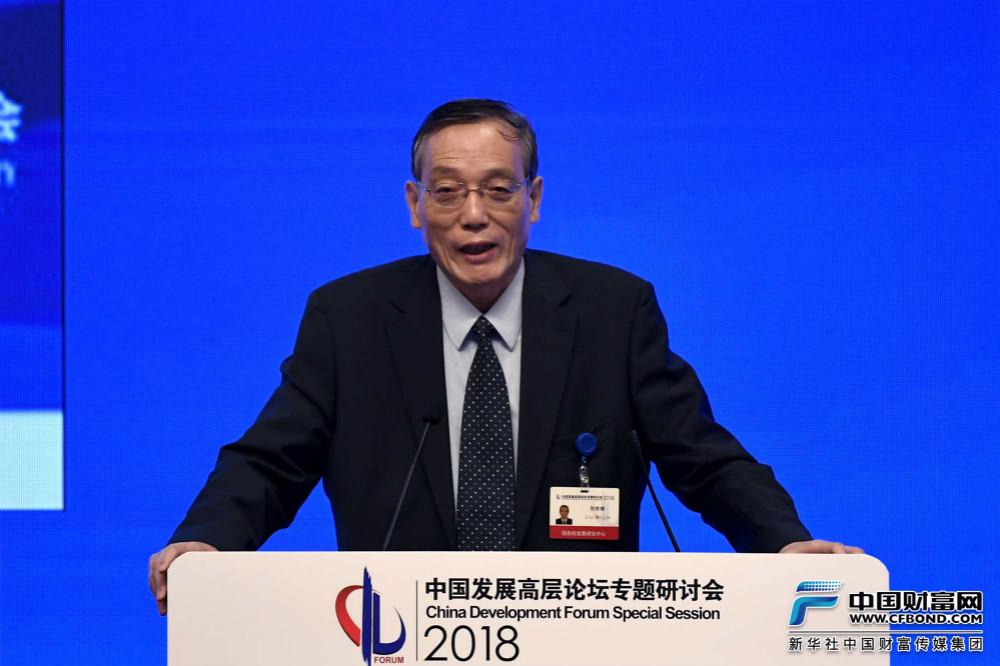全国政协经济委员会副主任刘世锦发言