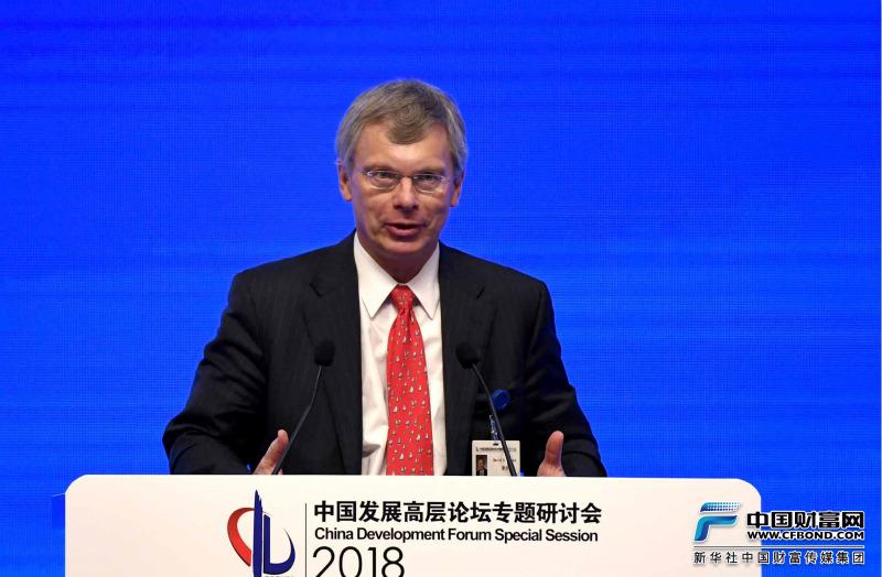 联合技术全球政府事务副总裁曼克发言