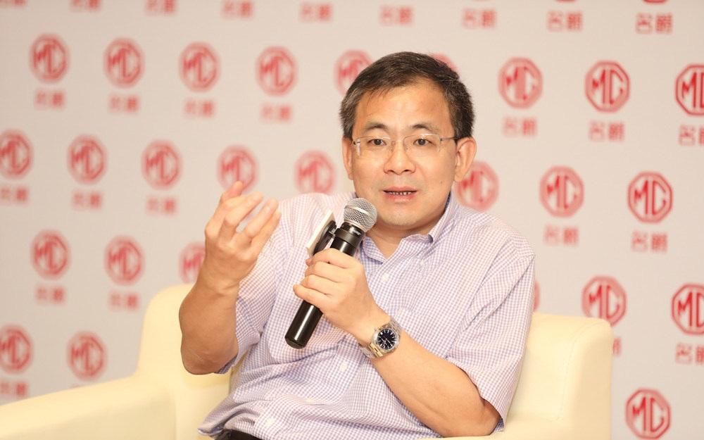 上汽集团副总裁王晓秋专访 解读名爵品牌