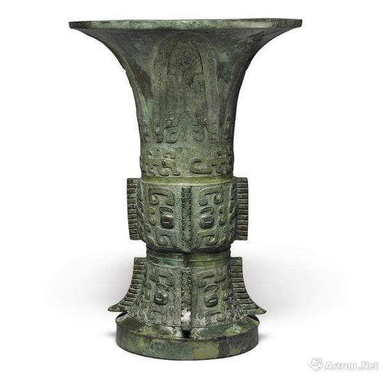 商代 殷墟时期 裸井尊 145.5万美元 纽约蘇富比