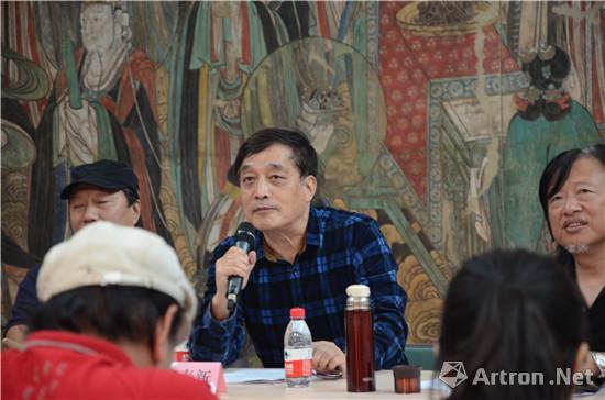 重庆大学中国画创作研究中心主任张春新研讨会发言