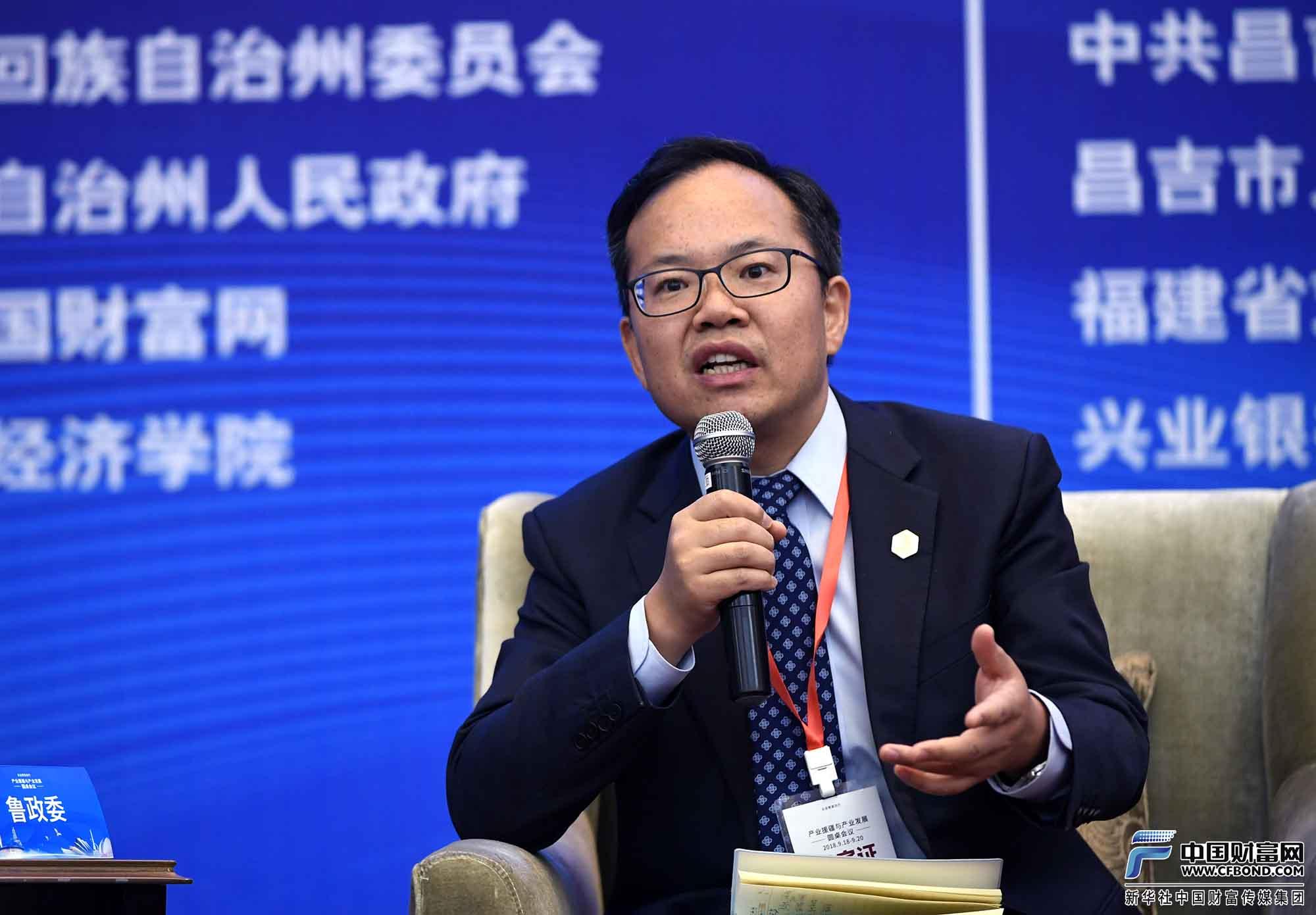 兴业银行首席经济学家鲁政委发言