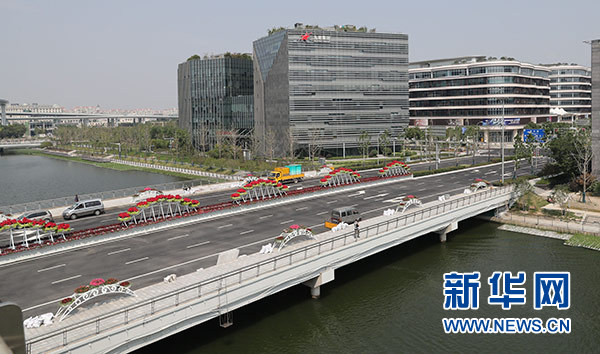 """360度颜值 365天辐射——上海全城涌动""""进博""""热"""