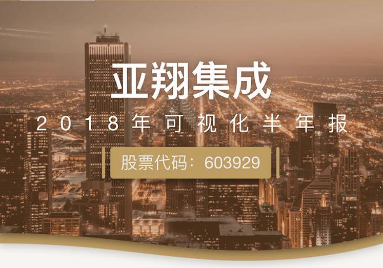 一图读财报:亚翔集成上半年净利润同比增长25.91%
