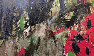 """色块的震撼""""边界·唐承华新作品展"""" 在慧和天语艺术空间开幕"""