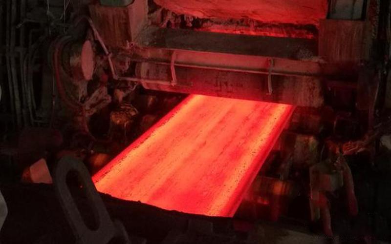 2000兆帕级薄板坯流程热成型汽车钢在河北唐山下线
